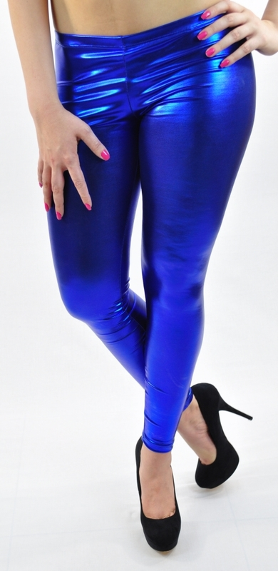 Latex Metallic Leggings - Shiny and Mat Colored | Orange Fashions ...