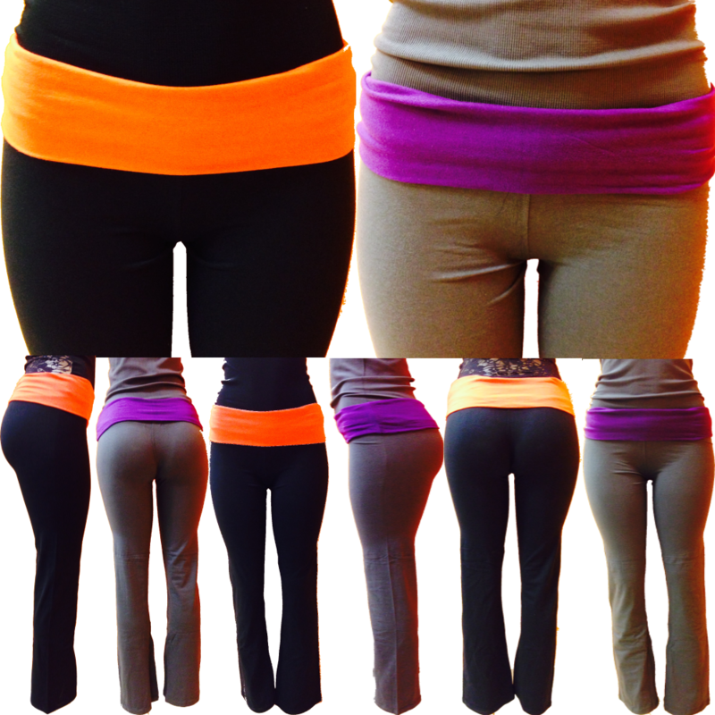 Active Yoga Pants - 2 Colors