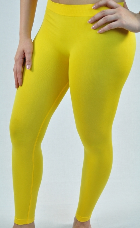 Long Colored Leggings Yoga Orange Fashions Online Llc