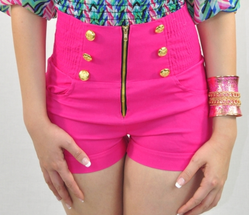 9 Colors - High Waist Shorts | Orange Fashions Online LLC