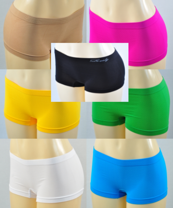 Short Shorts - Boy Shorts - 7 Colors - Yoga
